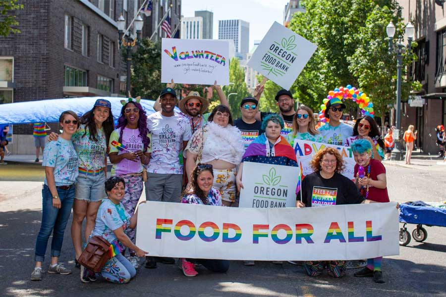 Pride Oregon Food Bank